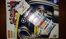 PANINI  CHAMPIONS LEAGUE 2014-15 LOTTO 40 FIGURINE + ALBUM VUOTO