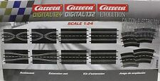 CARRERA 26956 EXTENSION SET 1/24 1/32 SLOT CAR TRACK 12 PIECES