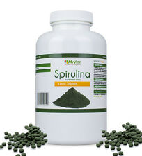Superfood Spirulina 100% (Spirulina Platensis) 1000 Tablets