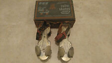 Ted Williams Vintage Sears Metal Roller Skates Adjustable Straps