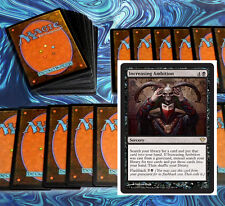 mtg BLACK CONTROL DECK Magic the Gathering rare cards desecration demon