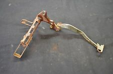 1987 YAMAHA WARRIOR 350 RIGHT FOOT REST AND BRAKE PEDAL 3GD-27211-30