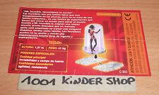 KINDER C-303 C303 THE INCREDIBLES UNGLAUBLICHEN - BPZ ARG VARIANTE 1 x www