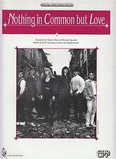 Nothing In Common But Love - Twister Alley - 1993 Sheet Music