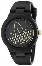 Men's Adidas Originals Aberdeen Black Silicone Watch ADH3013