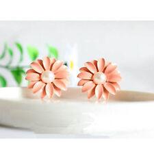 1 Paar Gänseblümchen Daisy Ear Studs Ohrstecker Ohrring Ohrschmuck Earrings