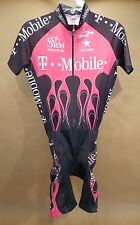 T-Mobile Bicycle Skinsuit • Biemme • S / 2 • Made in Italy • SRM • USA Cycling