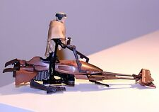 "1995 Star Wars POTF Speeder Bike w/ Luke Skywalker In Endor Gear 3 15/16"" FIGURE"