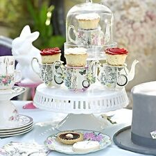 Truly Alice In Wonderland Cupcake Teapot Stands Mad Hatters Tea Party