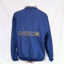 VTG Nike Pullover Windbreaker Jacket 90's Spell Out Jordan Track Mens XXL 2XL