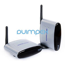 A06 Wireless AV Transmitter System 150m 2,4G Funk AV 3RCA HD TV  mit IR Extender