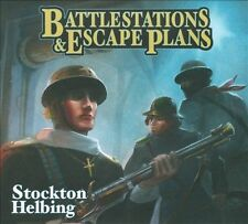 MINT ~ 2011 Battlestations & Escape Plans by Stockton Helbing Jazz Drummer Cd z3