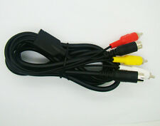 6 ft AV TV S-Video SAV CABLE DISPLAY CABLE / LEAD for SEGA Saturn CONSOLE