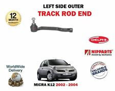 FOR NISSAN MICRA K12 2002-2004 NEW LEFT LH OUTER STEERING TRACK ROD END