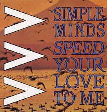 """Simple Minds Speed You Love To Me Uk 12"""""""