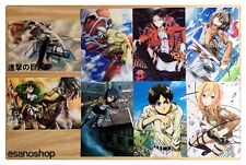 Shingeki No Kyojin Attack On Titan Lot De 8 Cartes Postal I 進撃の巨人