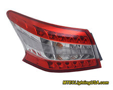 TYC NSF Left Side Tail Light Lamp Assembly for Nissan Sentra 2013-2014
