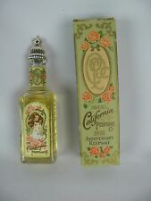 Vintage Avon California Perfume Co. 1976 Sweet Honesty Cologne & Keepsake Box