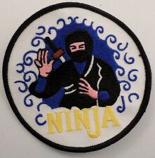 Martial Arts Embroidered Sew On Uniform Patch Ninja
