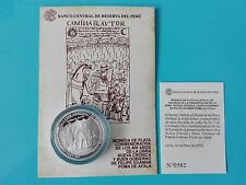 """Commemorative Coin Silver - 400 Years Of """"New Chronicle And Good Governance"""""""