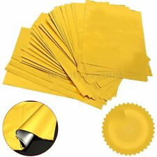 100pcs Golden Foil Paper A4 Transfer For Laser Hot Stamping Printer Laminator