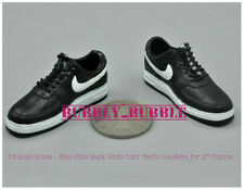 """1/6 Shoes Nike Style Black White Color Men Sneakers For 12"""" Figure SHIP FROM USA"""