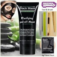 Deep Cleansing Black MASK peel-off facial acne Blackhead Kit with Brush!