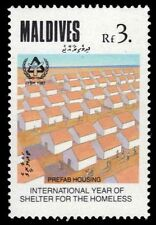 MALDIVE ISLANDS 1302 (SG1292) - Year of Shelter for the Homeless (pa43039)