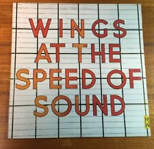 Wings At the Speed of Sound  LP Record beatles paul maccartney