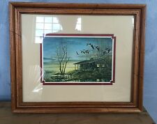 Evening Retreat - Terry Redlin Framed Print ~ Unlimited Donation Edition