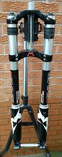 "Marzocchi frissons dc 8"" voyages mtb suspension fourche 1 1/8"" 20mm essieu nº 888"