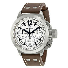 TW Steel CEO Chronograh White Dial Mens Watch SCE1007R