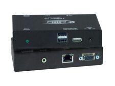 NTI st-c5usbvua-r-1000s CAT5 VGA USB KVM w Audio/USB Port Extender (Rx)/1000ft