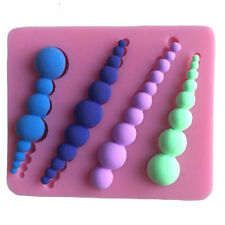 DIY Pearl Silicone Cake Candy Mold Handmade Impression Fondant Mould Baking Tool