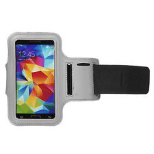 Sports Running Jogging Gym Armband Waterproof Cover for Samsung S3, S4 White