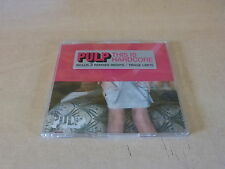 PULP - THIS IS HARDCORE - PART 2 !!!RARE FRENCH ONLY CD!!!!!FRENCH STICKER!!!!!!