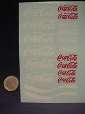 "DECALS 1/18  ""COCA-COLA"" -  T369"