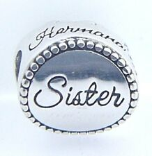 2010-3228 CHAMILIA STERLING SILVER SISTER DISC CHARM NEW WITH POUCH