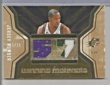 2007-08 Upper Deck SPX Basketball Michael Redd Gold Jersey Patch Card # 15/15