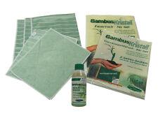 AQUA CLEAN Bambus-Kristall 6er Set - mit Hochleistungsreiniger