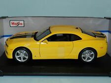 Maisto Special Edition 1/18 2010 Chevrolet Camaro SS RS Yellow MIB