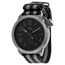 Vestal Canteen Zulu Black Dial Nylon Strap Mens Watch CAN3N02