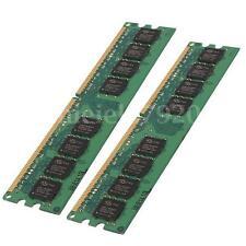 MEMORIA RAM 2GB 2x1GB DDR2 533Mhz PC2-4200 240 PIN NON-ECC SDRAM DESKTOP PC DIMM