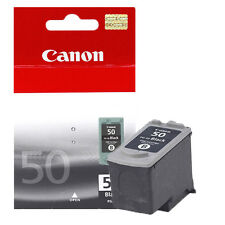 TINTA ORIGINAL CANON MP 450 460 PG-50 NEGRO 0616B001 PIXMA BLACK INK GENUINE