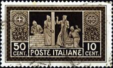 ITALIA - Regno - 1929 - 1400° della fondazione dell'Abbazia di Montecassino 50 c