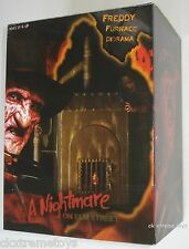 "A Nightmare on Elm Street Freddy Krueger Furnace Diorama Replica 7"" Scale NECA"