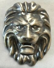 "5oz YPS ""Lion"" (Antique Finish) 999+ silver bullion bar ""Yeager's Poured Silver"""