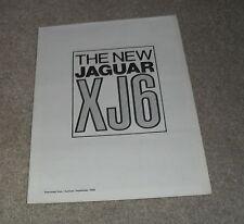 Jaguar XJ6 2.8 & 4.2 Series 1 Autocar Reprint Brochure 1968