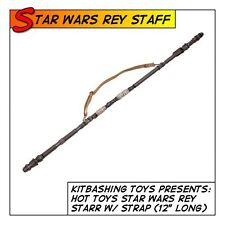 "HOT TOYS Star Wars Rey 12"" Staff w/ Strap MMS336 fit 1/6 12 in scale figures"