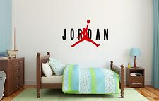 Michael Jordan Air NBA Basketball Wall Decal Decor For Home Car Laptop Sports